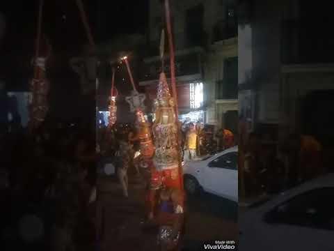 Shiri ekadash rudra mahaveer sewa samiti dal, clock tower, hanumaan jayanti shobha Yatra
