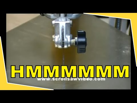 How to woodworking scroll saw tutorial proper blade tensioning how to woodworking scroll saw tutorial proper blade tensioning youtube greentooth Gallery
