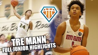 Tre Mann CAN PULL UP FROM ANYWHERE ON THE FLOOR!! | Full Junior Highlights