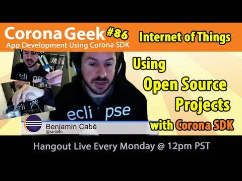 Corona Geek #86 - Using Open-Source Projects with Corona SDK