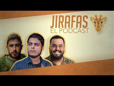 Kike Pérez y Tomás Moreno con David Sainz | Jirafas #15 | Playz