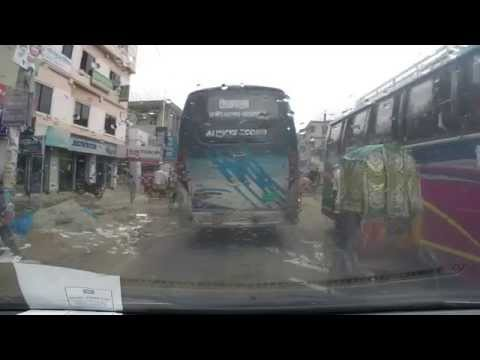 on the way to Noakhali / Bangladesh with GoPro