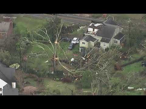 Special coverage after destructive tornado rips through Newnan, Georgia