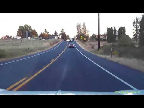 Driving Oregon Gladstone/Oregon City to Mulino, then back via 99E