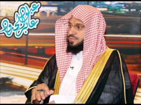خطبة الشيخ عائض القرني بتبوك يوم الجمعه 23/6/1434