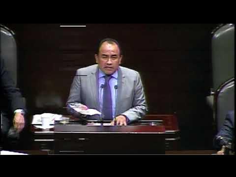 Dip  Sergio López Ley de ingresos para el Ejercicio Fiscal de 2018