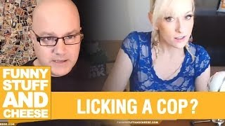 LICKING A COP? - Funny Stuff And Cheese #103 Thumbnail