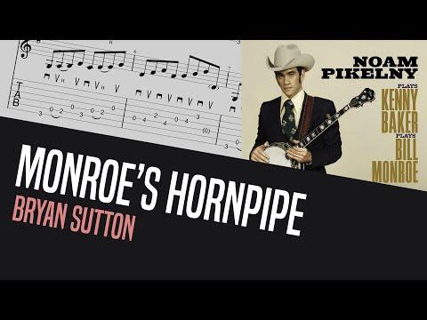 Do you know how Bryan Sutton flatpicks Monroe's Hornpipe? - Bluegrass Guitar