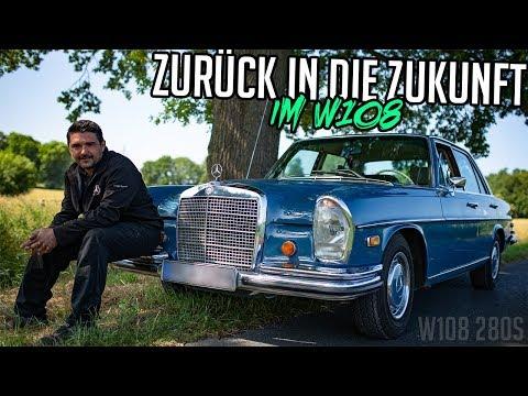 Stern Garage - Zurück In Die Zukunft Im W108 | Mercedes Benz W108 280S