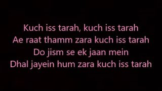 kuch iss tarah lyrics 1921