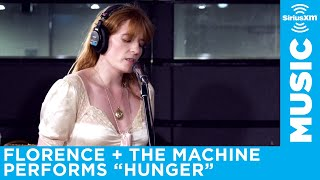 Florence + The Machine performs Hunger at the SiriusXM Studios