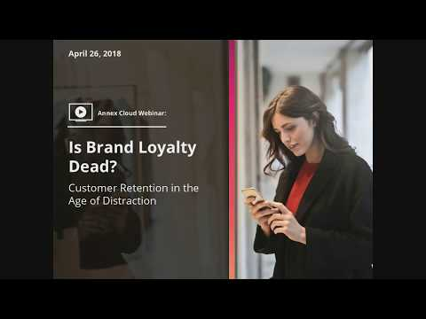 Is Brand Loyalty Dead? Customer Retention in the Age of Distraction