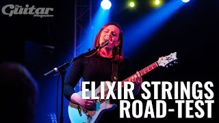 Mary Spender road tests Elixir Optiweb and Nanoweb guitar strings
