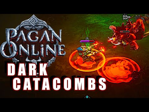 Pagan Online Gameplay #8 : DARK CATACOMBS