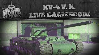 der kv 4 von kreslawski    gamescom livestream    lets play