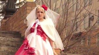 Самая необычная свадьба в стиле Гот+ Рок