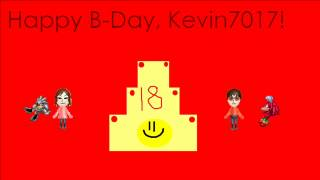 Happy Birthday Kevin7017!
