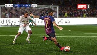 Recreacin Barcelona 3-0 Manchester United UEFA Champions League 2019