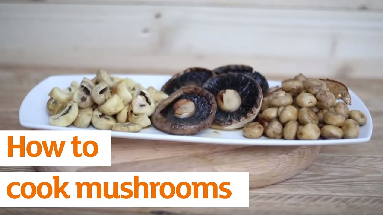 How to cook champignons