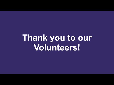 A Thank You to Volunteers from our Chief Executive