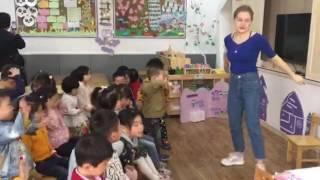 Демо класс учителей английского языка в Китай