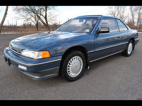 1987 Acura Legend L Coupe V6 - YouTube