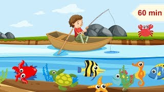 Boat fishing and Happy Relaxing Music for Children | Music for Kids & Babies