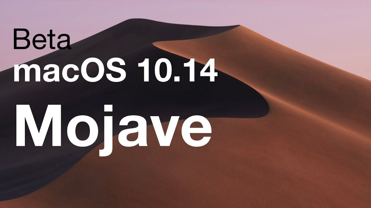 os mojave download