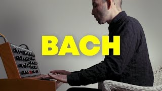 Bach Cello Suite No.1 Courante on Moog Synthesizer