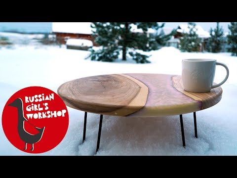 How to Make Resin River Round Table