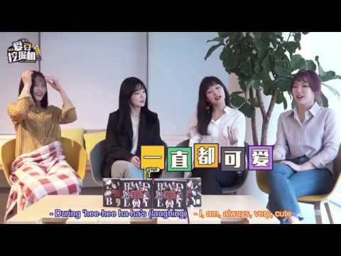 [ENG SUB] Red Velvet 레드벨벳 YinYueTai Interview 180227