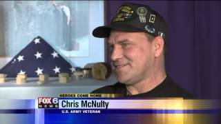 Third try was the charm for veteran looking to heal from PTSD  FOX6Now co