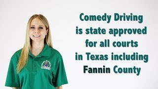 Fannin County Texas Defensive Driving | Comedy Driving Inc
