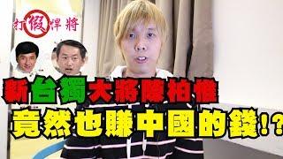 【新台獨大將陳柏惟 竟然也在賺中國的錢!?】-打假悍將
