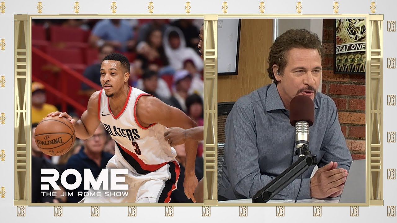 C.J. McCollum Drops 40 Points | The Jim Rome Show