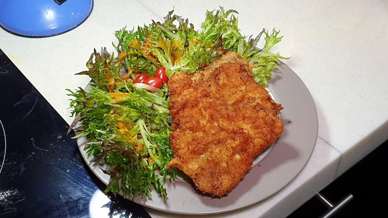 Deep fried pork chops