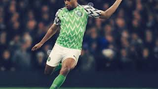 Arsenal star Alex Iwobi shows off Nigeria's new World Cup home kit… and fans love it
