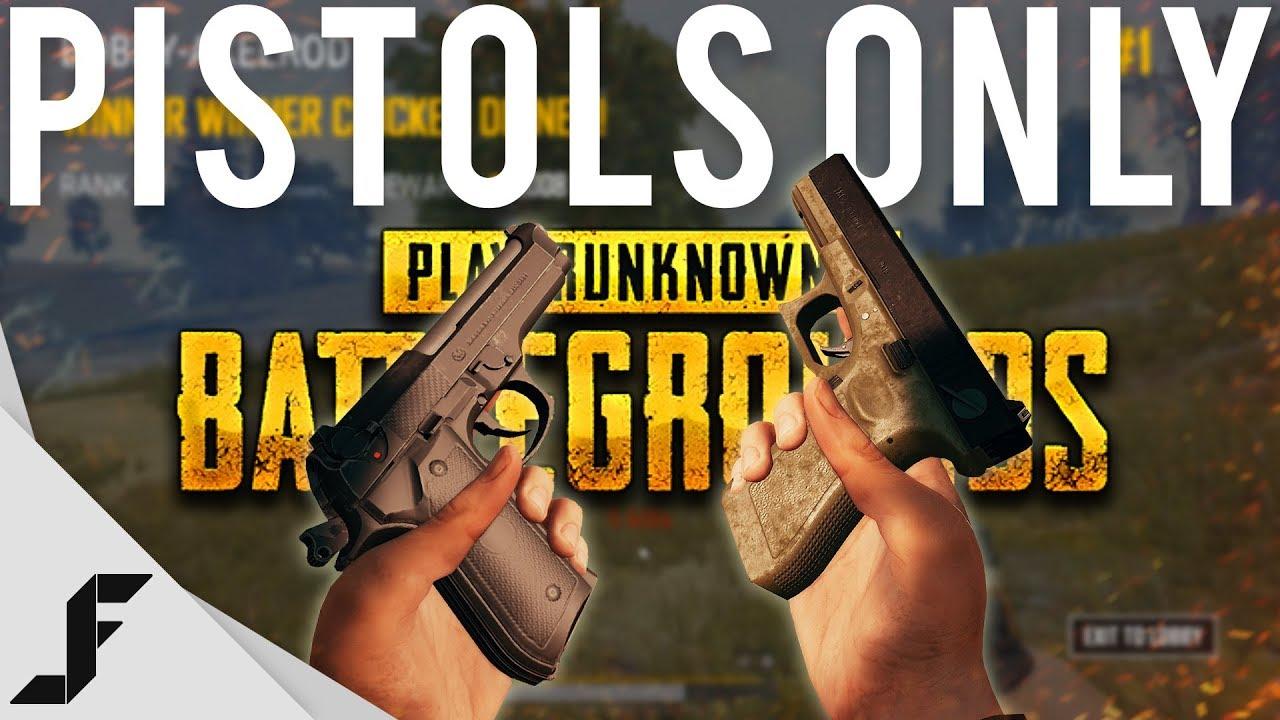 PUBG Pistols Only Challenge!