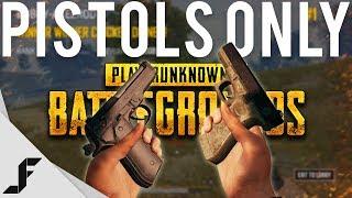 PUBG Pistols Only Challenge