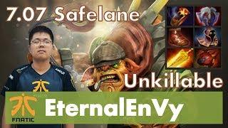 EternalEnVy Bristleback Safelane | Dominated Lane | 7.07 Update Patch Dota 2 Gameplay Pro MMR