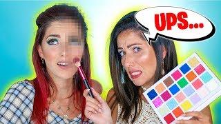 Make up Anfänger beendet mein Makeup Look auf der anderen Seite...OHA