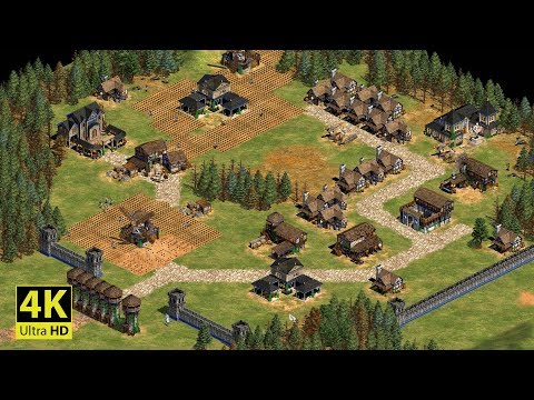 Age of Empires 2 4K UHD - Mission 7 THE BATTLE OF FALKIRK | William Wallace: Learning Campaign
