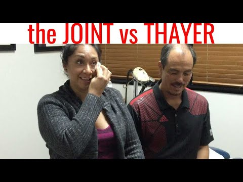 Dr. Thayer vs The JOINT!  You get what you pay for... Real Chiropractic