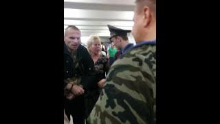 """""""Доблестная"""" работа милиции в Минске"""