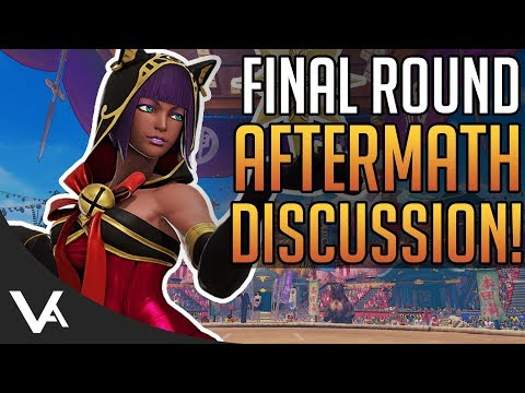 SFV - Final Round 2018 Aftermath Discussion! Tournament Results For Street Fighter 5 Arcade Edition