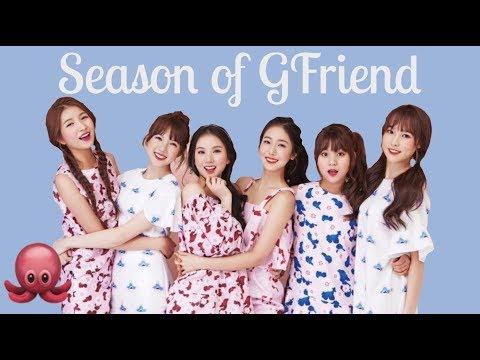 GFRIEND Season Of GFriend 2018 Season's Greetings Unboxing!