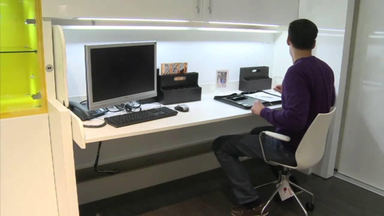 Fesselnd Häfele   Mit Tavoletto In Sekunden Vom Schreibtisch Zum Bett   YouTube