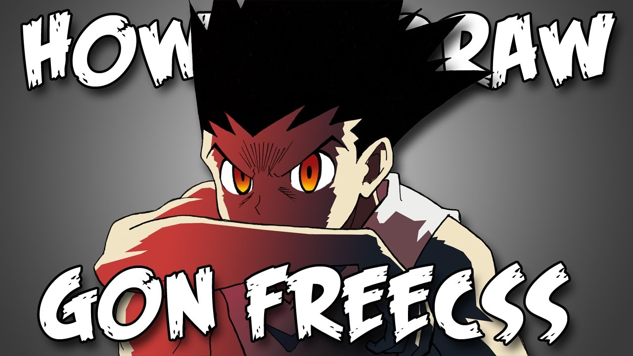 Draw Gon From Hunter X Hunter Quick Simple Easy How To Steps For Beginners ゴンフリークズ