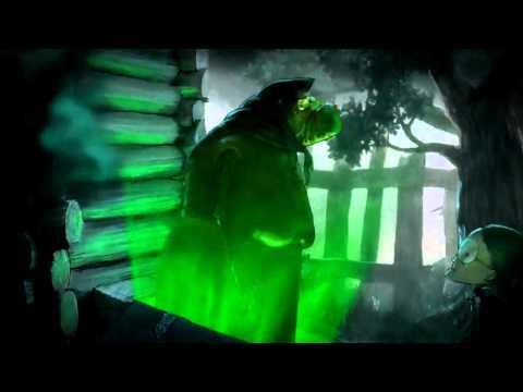 Зелёный леденец мультик ужастик