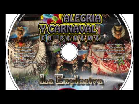 La Hojita - Murga, Alegría y Carnaval en Panamá - Murga la Explosiva - Discos Tamayo - Panamá